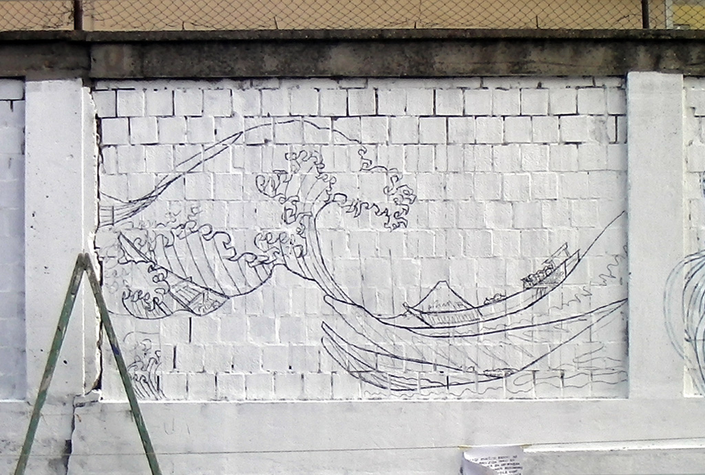 The Great Wave of Pančevo -work in progress2-