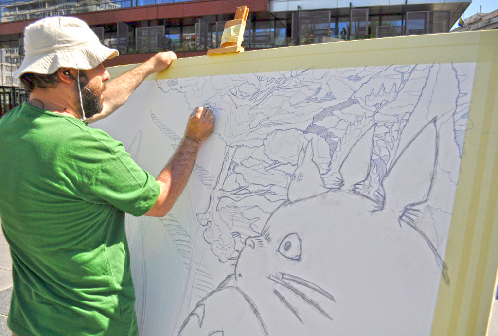 Ghibli blows in Sarajevo -work in progress2-