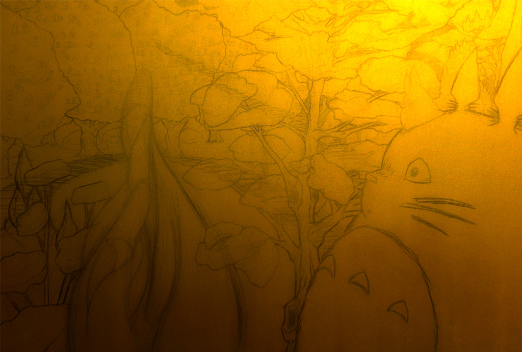 Ghibli blows in Sarajevo -work in progress3-