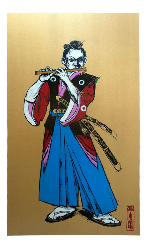 Poster Boy – The Young Samurai Flautist