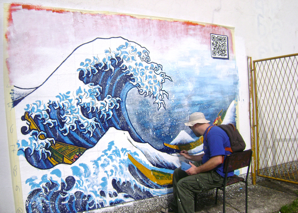 The Great Wave of Banja Luka -work in progress-