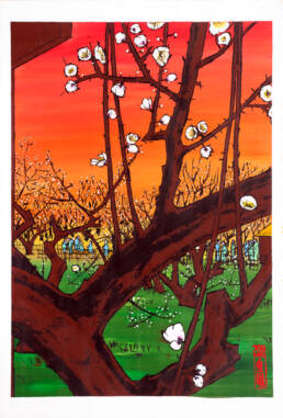 Plum Orchard in Kameido after Hiroshige