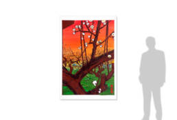 Plum Orchard in Kameido after Hiroshige -size reference-