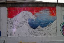 The Great Wave of Pančevo -work in progress3-