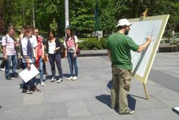 Ghibli blows in Sarajevo -work in progress-