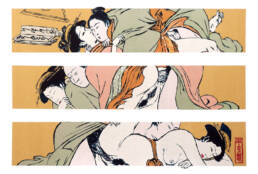 Couple after Torii Kiyonaga