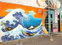 The Great Wave of Marzahn, Berlin
